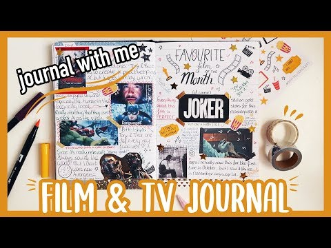 MY NEW MOVIE & TV JOURNAL // Journal With Me + Flip Through!