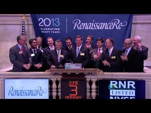 Bermuda's RenaissanceRe Holdings Celebrates 20th Anniversary of Founding