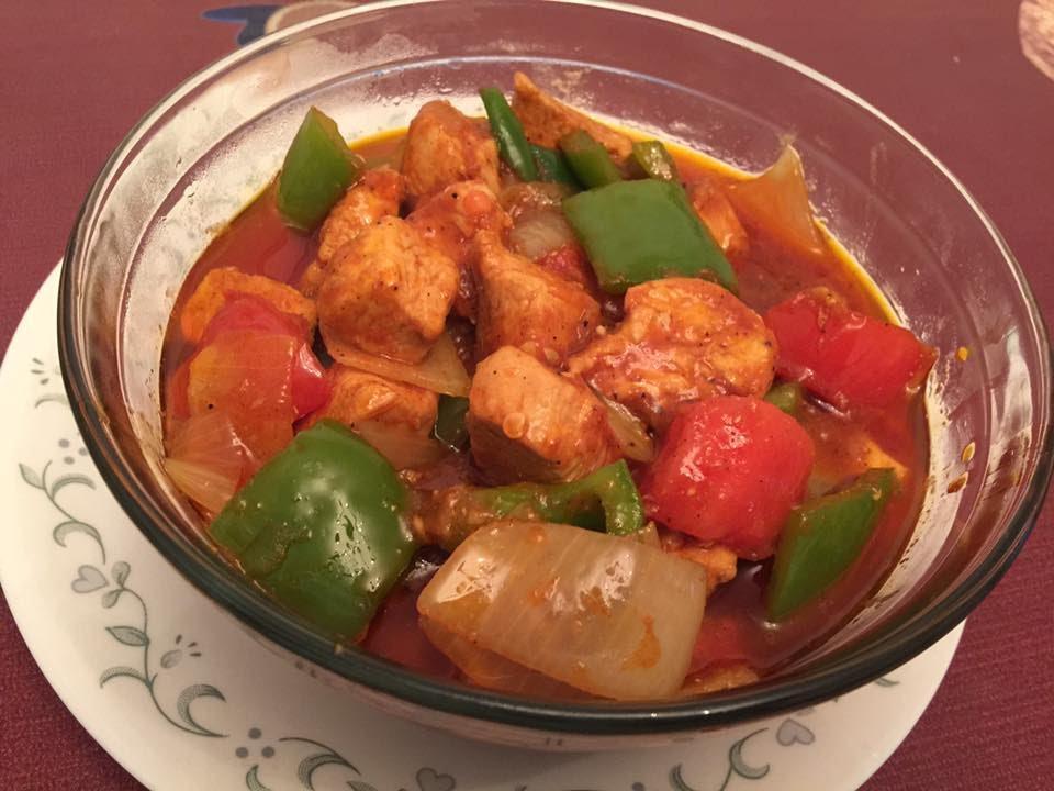 Chicken Jalfrezi Simple Chicken Jalfrezi Recipe Urduhindi By