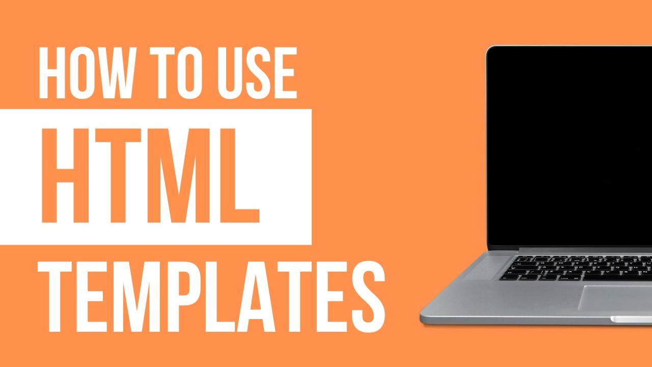 Setting Up a HTML Template - 2018 Step by Step Tutorial - YouTube