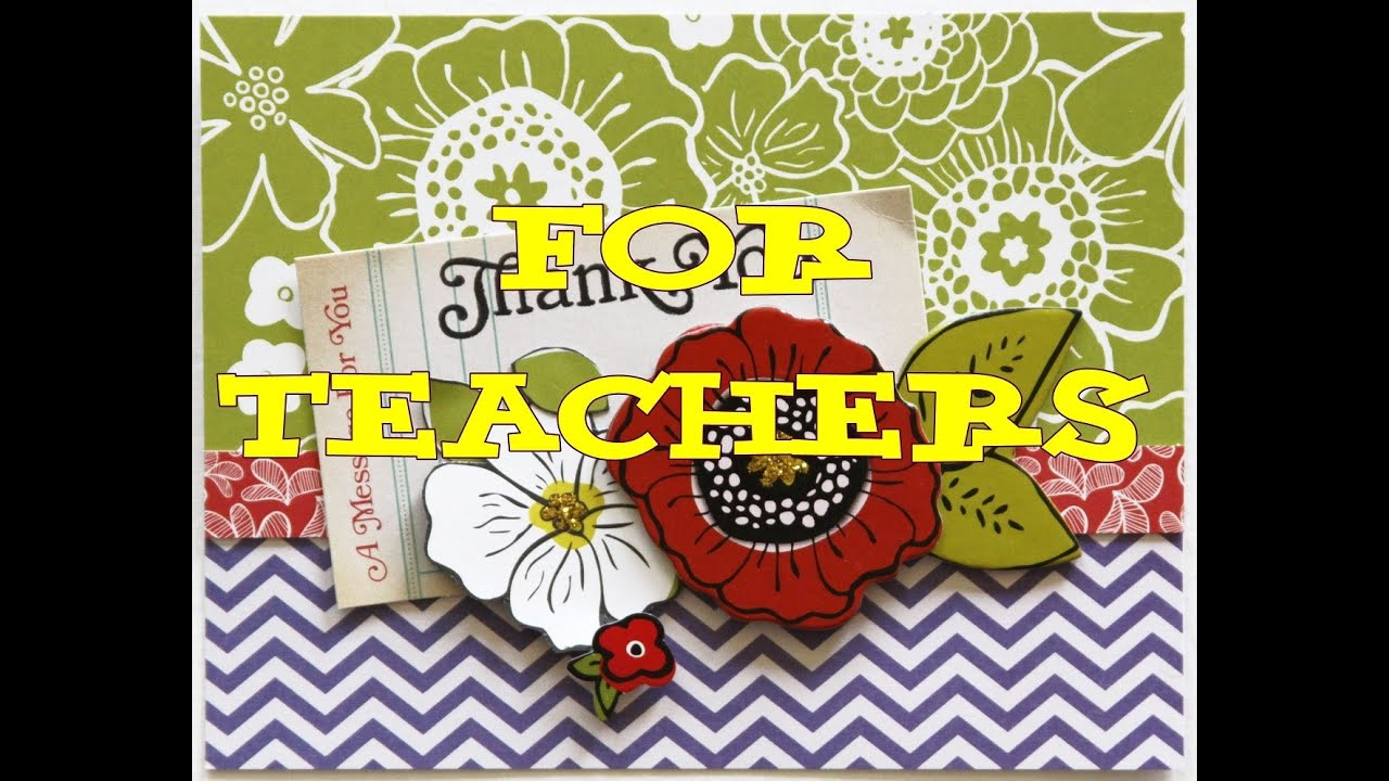thank you cards for teachers 10 great cards new youtube