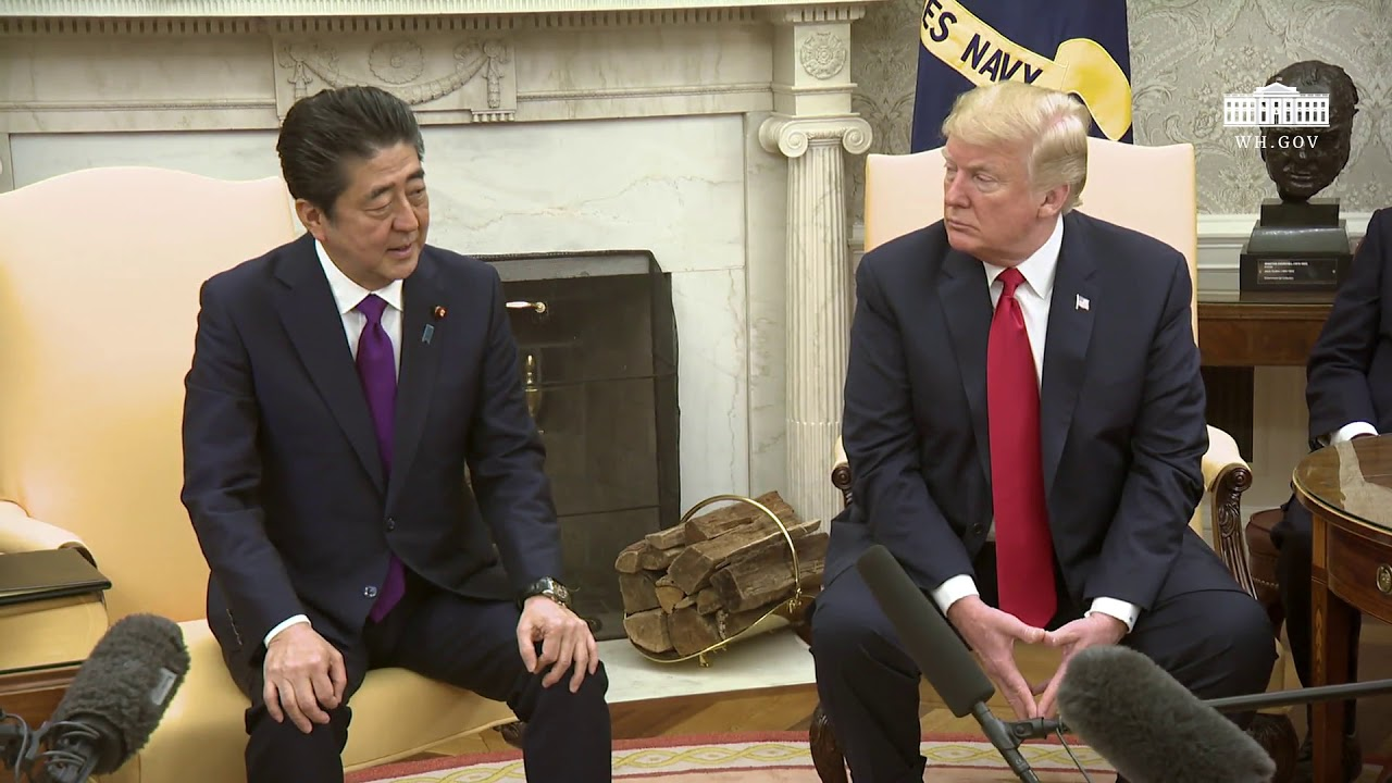 president-trumps-meets-with-the-prime-minister-of-japan