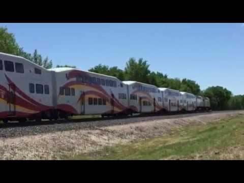 New Mexico Railrunner with 3 Engines