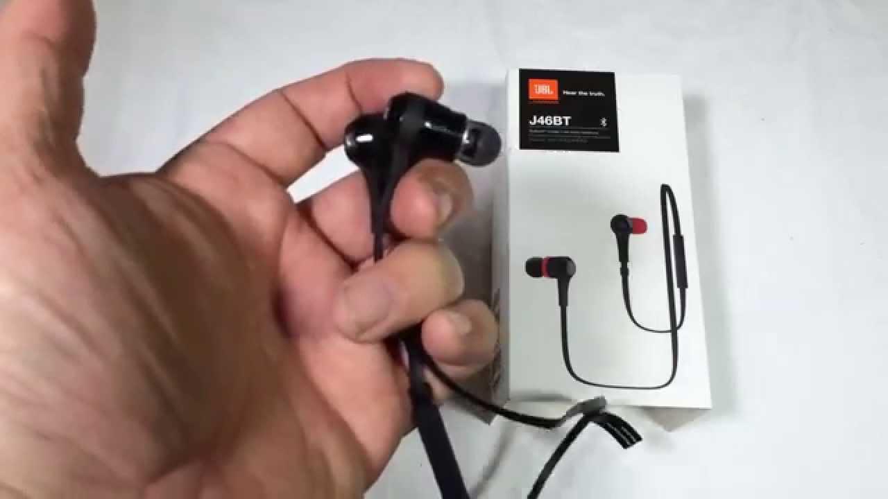 JBL J46BT Bluetooth Wireless In-Ear Stereo Headphone Review  JBLaudio -  YouTube 2103ba3b83