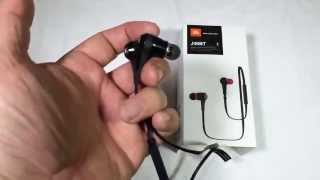 JBL J46BT Bluetooth Wireless In-Ear Stereo Headphone Review @JBLaudio