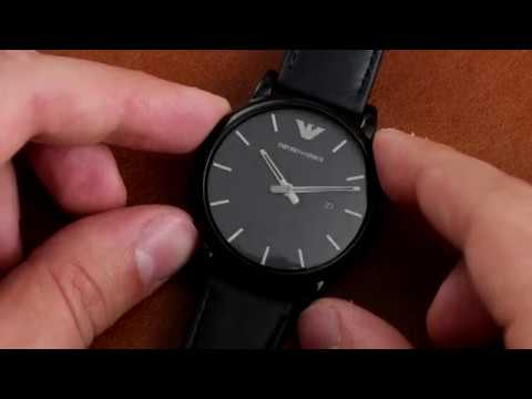 ⌚ Watch Review Emporio Armani AR1732 From ✅ Viptime.ru
