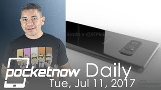 Samsung Galaxy Note 8 early launch, RED Hydrogen patents & more   Pocketnow Daily
