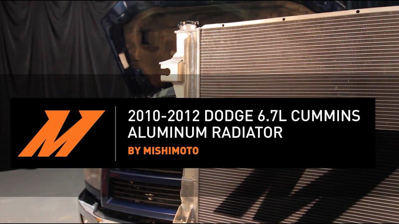2010-2012 Dodge 6 7L Cummins Aluminum Radiator Features and Benefits
