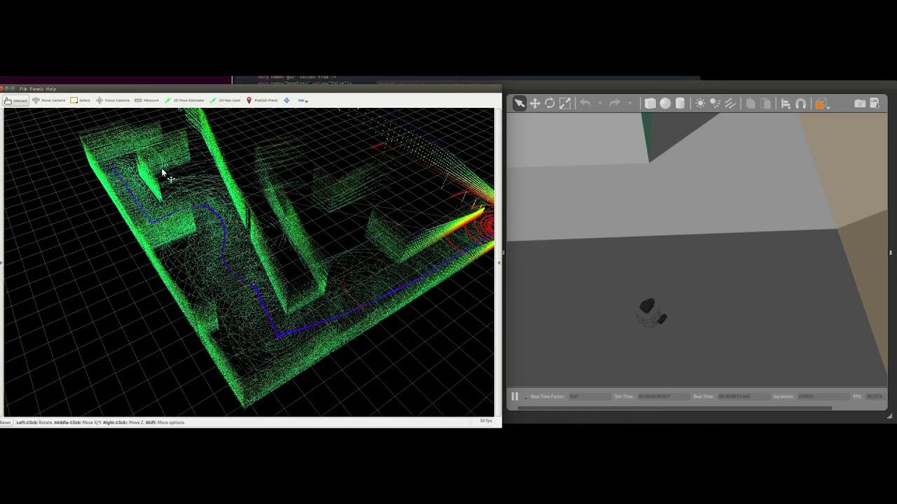 TurtleBot3 - Blam Slam with Velodyne 3D Lidar