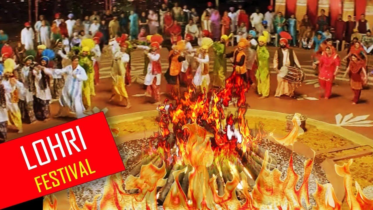 Image result for punjabi lohri festival