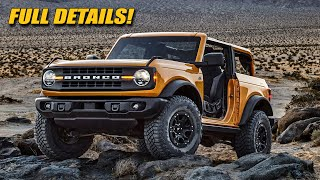 2021 Bronco! Ford Goes After Jeep!