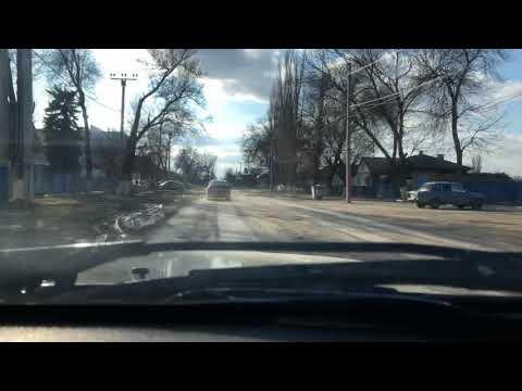 г.Морозовск. Дорожный серпантин. Центральная улица города.....просто бомбическая улица.