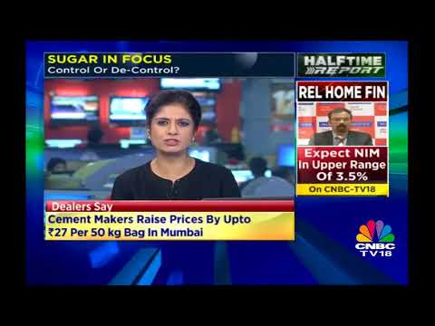 Will Sugar Prices Rise in the coming Months? | Cement Makers Raise Prices in Mumbai | CNBC TV18