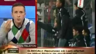 Scandal monstru la GSP.TV intre Gigi Becali si Mihai Stoica. Balacareala tipic romaneasca. Sursa: [ www.220.ro ].