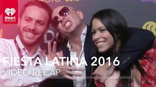 Pitbull + Enrique Iglesias | Backstage at iHeartRadio Fiesta Latina