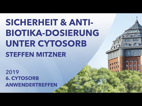 Aktuelle Daten zur Sicherheit und Antibiotika-Dosierung unter CytoSorb | Steffen Mitzner