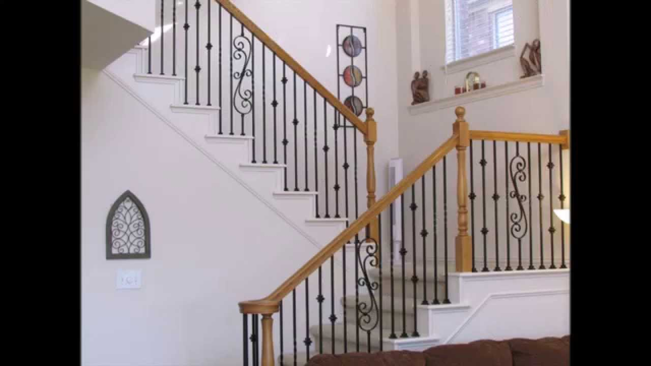 Www.balusterstore.com Iron Balusters, Iron Stair Parts, Stair Railing, Metal  Spindles   YouTube