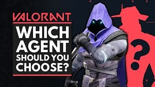 VALORANT | Which Agęnt Should You Choose? Character Guide