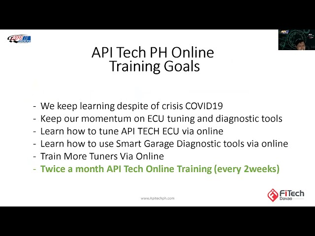 API Tech PH Online Training Batch 9 recording