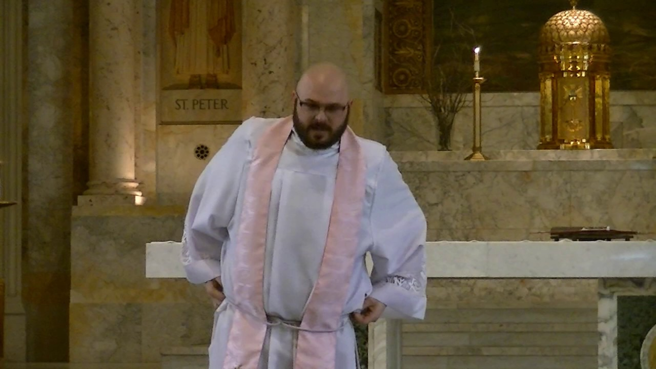 What Catholic priests wear and why – Teaching Mass - YouTube