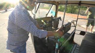 The Motor-Rickshaw - How it works - Part 1 - Three Wheels on India