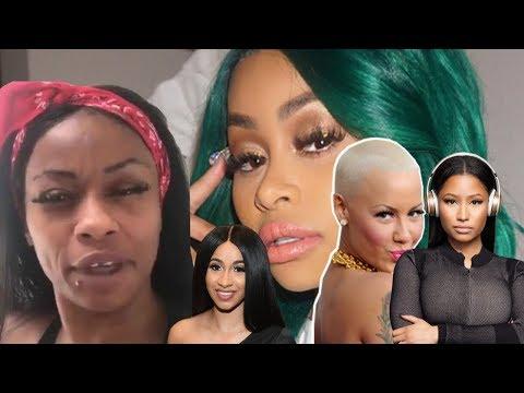 La Maman De Blac Chyna Crie Et Insulte Chyna , Nicki Minaj , Amber Rose ,Cardi B