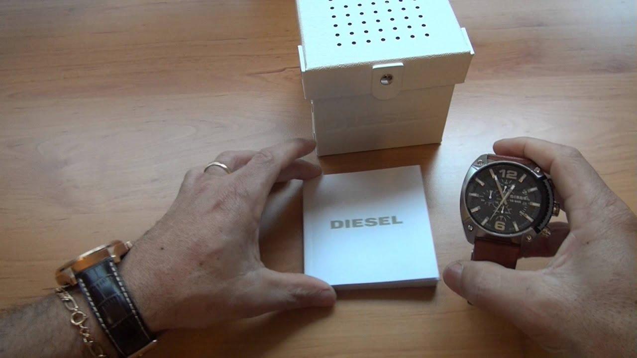 f751987b709 Unboxing  Relógio Diesel Chrono DZ4296 Overflow (Original) - YouTube