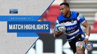 MATCH HIGHLIGHTS   London Irish 36-33 Bath Rugby
