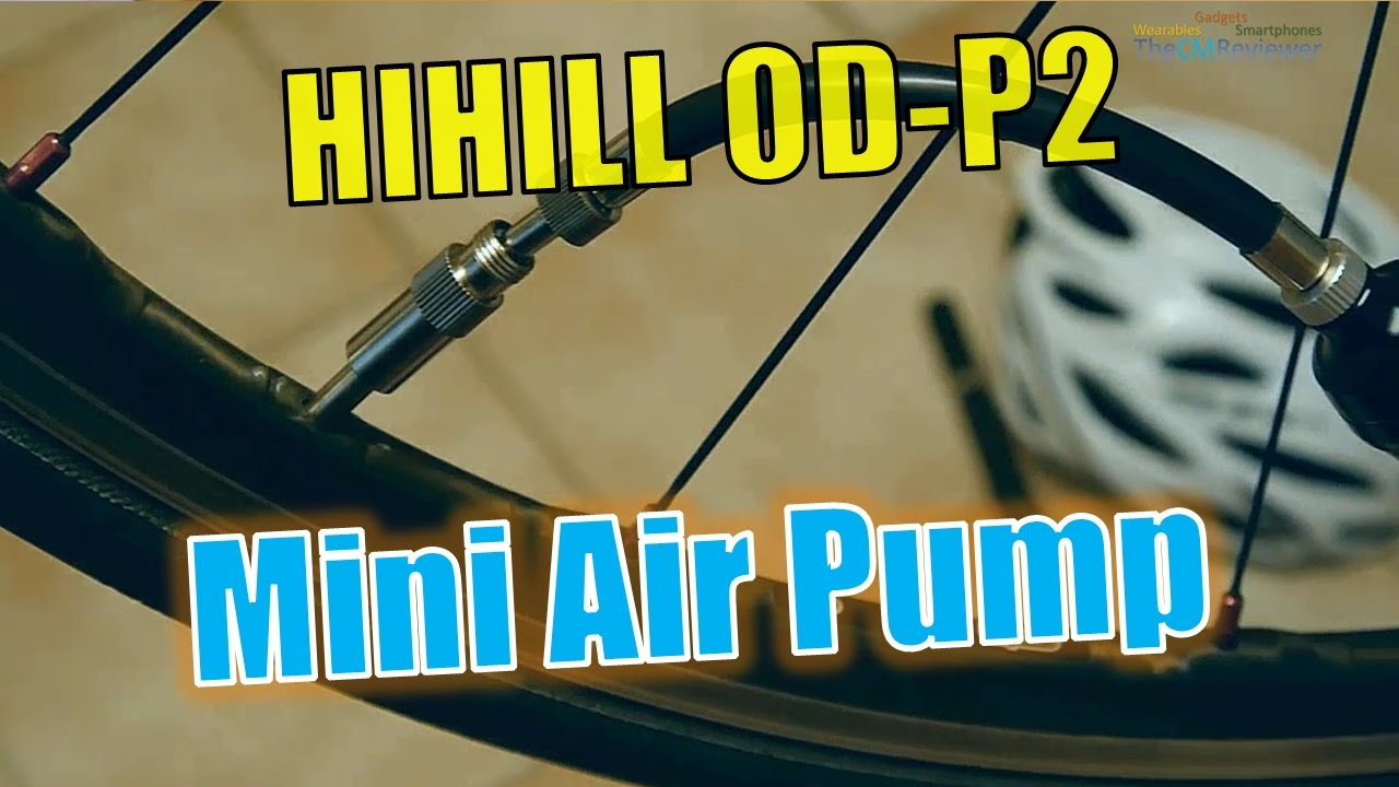 HiHILL OD-P2 Test Mini Air Pump - Mini Fahrrad Luftpumpe ...