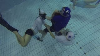 What is underwater rugby? BBC News