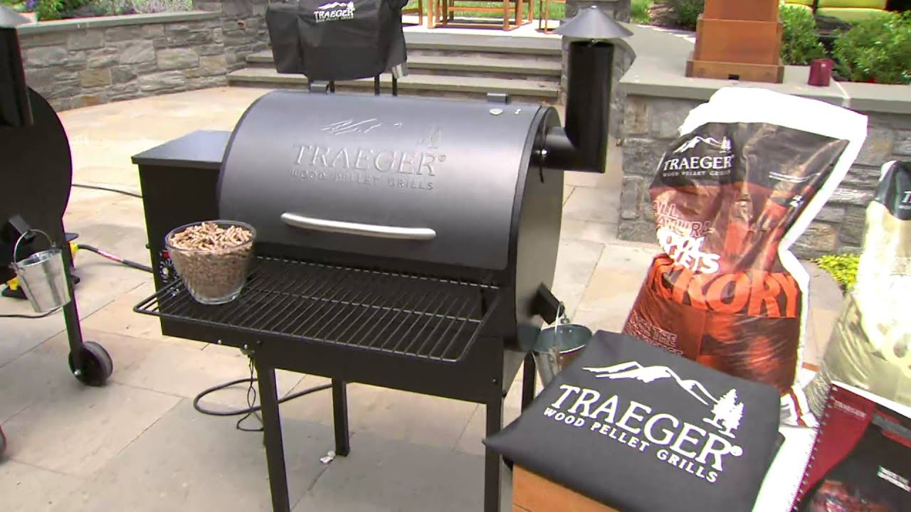 Traeger Lone Star 572 Sq In Wood Fired Grill Amp Smoker