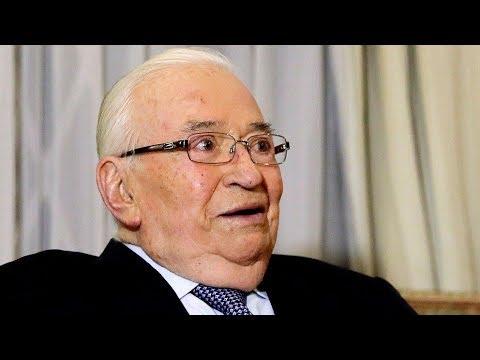 Colombia da último adiós al expresidente Belisario Betancur