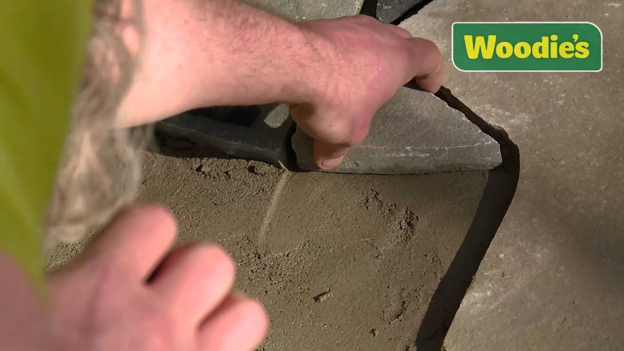 How to lay crazy paving by Kevin Williams  YouTube