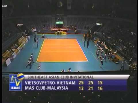 Match No.06 : MAS CLUB-MALAYSIA vs VIETSOVPETRO-VIETNAM 1~3 - Set 3