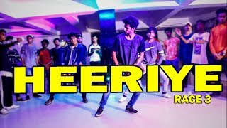 Heeriye - Race 3 | Salman Khan, Jacqueline Dance Choreography @Ajeesh krishna