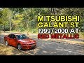 Mitsubishi Galant ST 1999/2000 AT Red Metallic