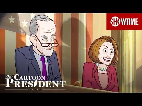 'Cartoon Alexandria Ocasio-Cortez' Election Special 2018 Sneak Peek | Our Cartoon President