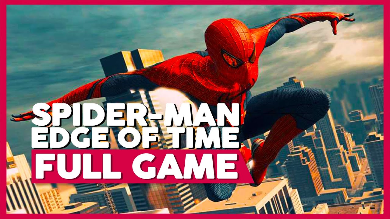 Spiderman: Edge Of Time   Full Game Playthrough   No Commentary [PS3 HD]