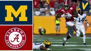 #14 Michigan vs #13 Alabama Highlights | 2020 Citrus Bowl Highlights | College Football