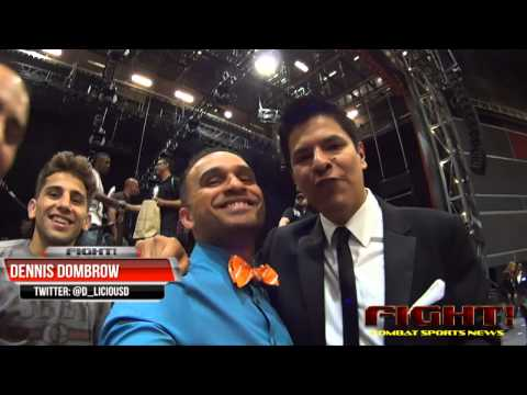 Spectacular Ring Announcer & Color Commentator SHOWERS the #BowtieBoss with Adoration!