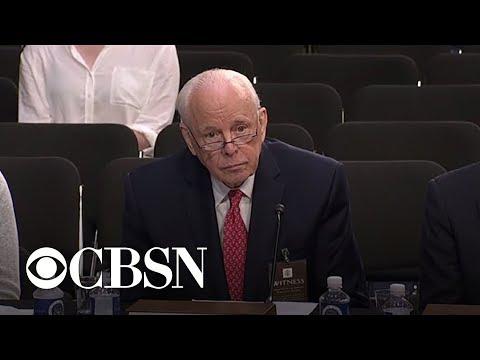 John Dean testifies on presidential powers at Kavanaugh hearing
