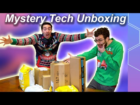 I accepted EVERY SINGLE review request for a month | Mystery Tech Unboxing and review!