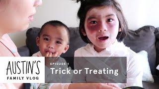 Trick or Treat | Austin Vlog | HiHo Kids