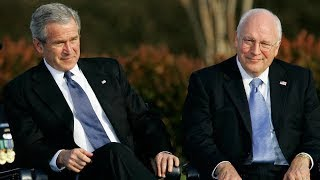 Funny Joke One Day On Air Force One Dick Cheney And George W Bush{V}