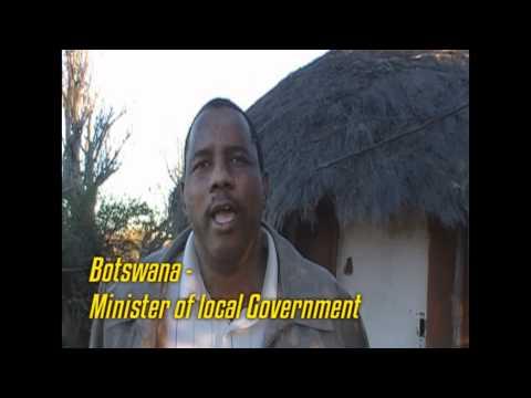 Botswana Government Minister thanks BOP