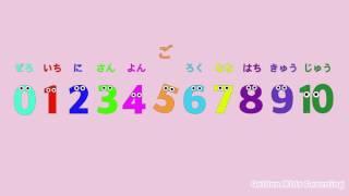 数字の歌 〜数字を10から0まで反対に数えてみよう〜