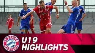 Highlights: FC Bayern U19 feiert souveränen Derbysieg gegen SpVgg Unterhaching