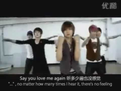 Hit5 - Say you love me again [Eng Sub/Rehearsal]