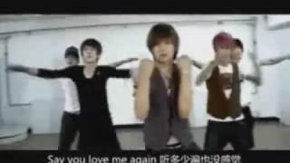 Hit5 - Say you love me again [Eng Sub/Rehearsal]
