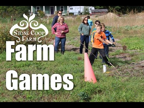 Work Hard - Play Hard - Farm Games!